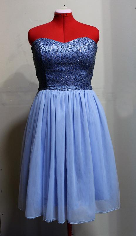Платье-бюстье смногослойной юбкой от alexandrareyss