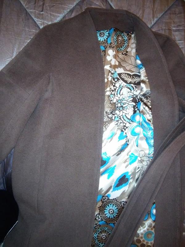 Пальто срукавами кимоно