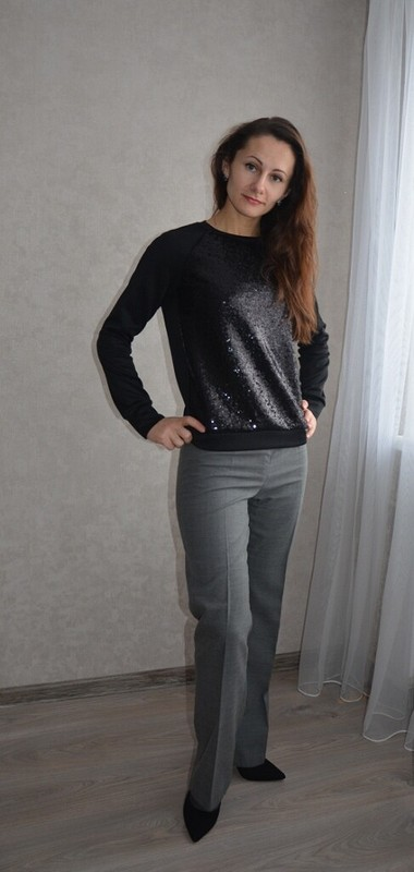 Два пуловера от Alena255