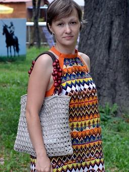 Работа с названием Платье и сумка