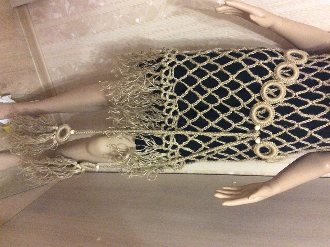 Платье туника «Арахна