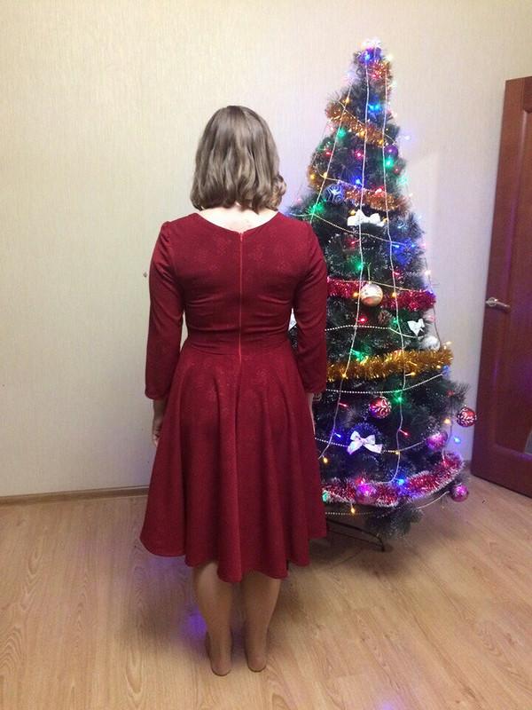Винное платье от LisaMakhalova