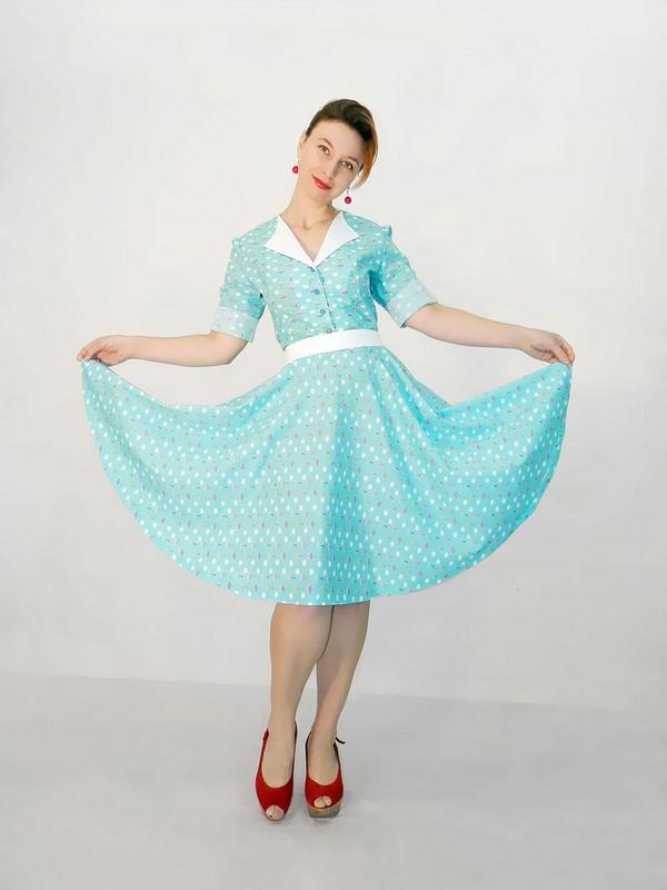 Ретро платье)))