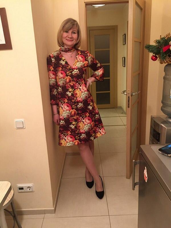 Платье счокером от alenau2006