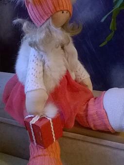 Работа с названием Кукла снежка