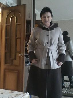 Работа с названием Пальто для осени