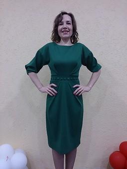Работа с названием Платье без резинки