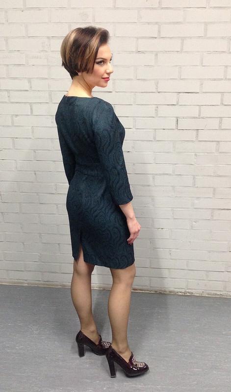 Платье изжаккарда от Svitlana_Shevchenko