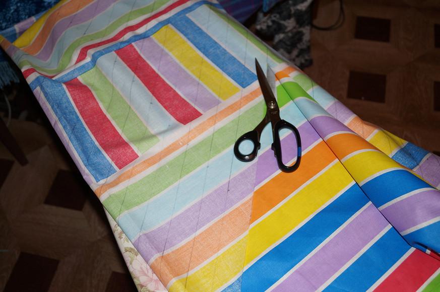 Как изготовить косую бейку