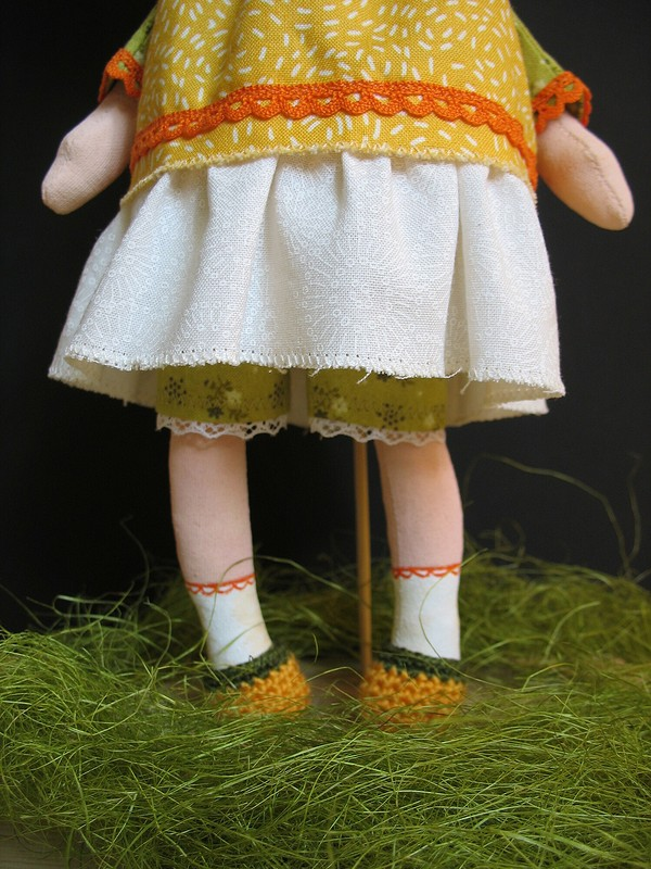 Кукла «Одуванчик» от uekmrbyf