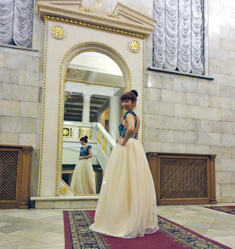 Принцесское платье