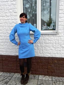 Работа с названием Платье-свитер или мечты сбываются