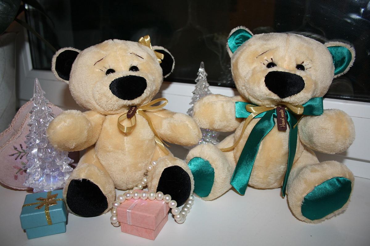Плюшевые Мишки)))) Подарки наНовый Год! от Nutka