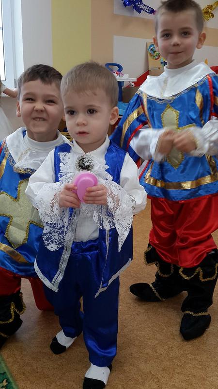 Снегурочка + мушкетер