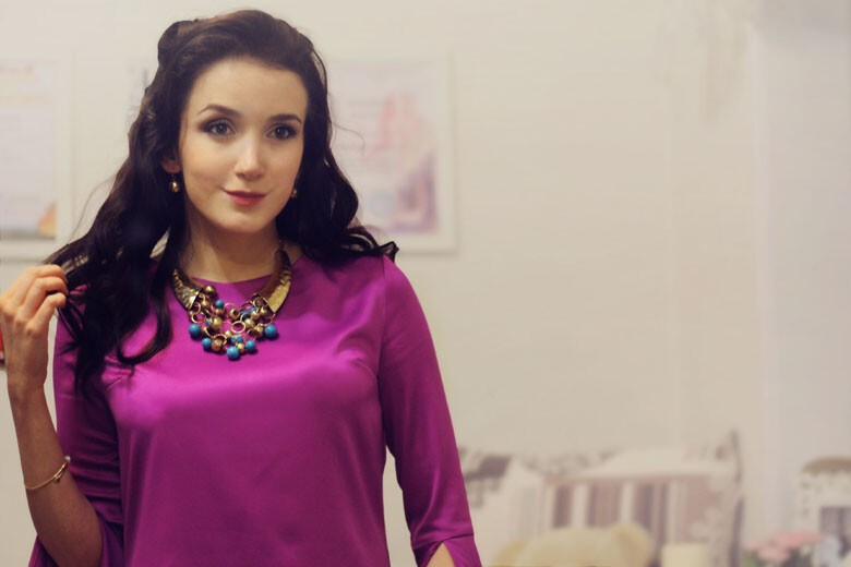 Новогоднее платье от chigarkova