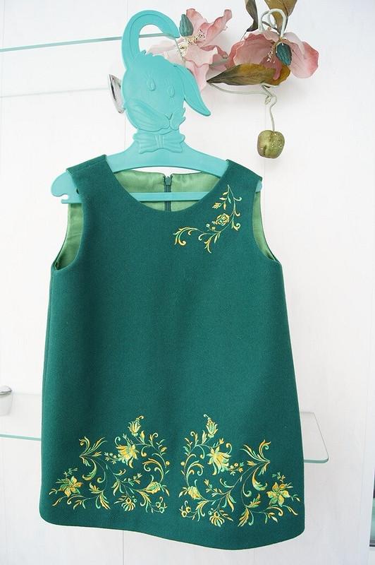 Ах, одену сарафан вжёлтенький цветочек от Gulenka