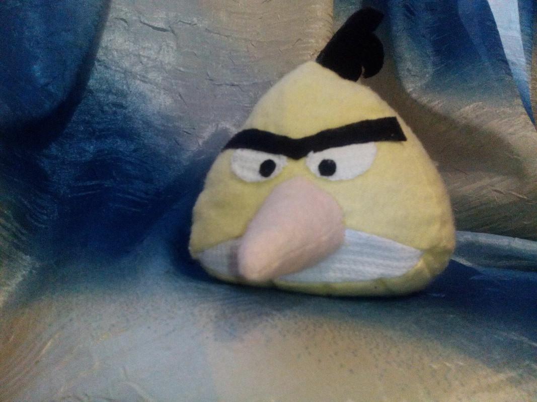 Злая птичка:)