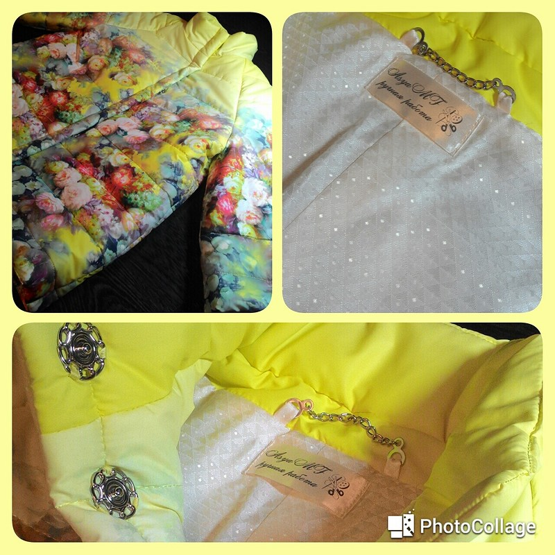 Весенняя куртка от AsyaMF