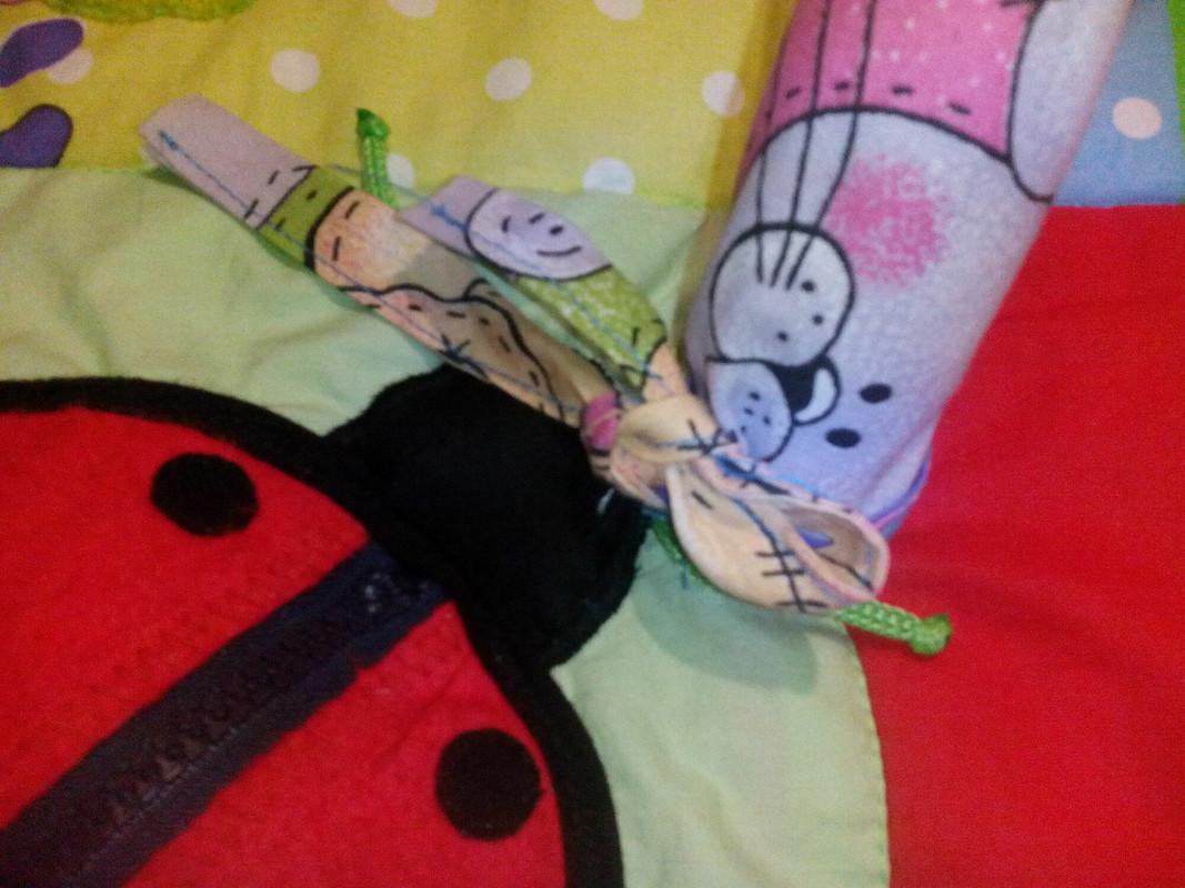 Развивающий коврик длядоченьки от olgunyasha