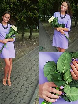 Работа с названием Лавандовое платье