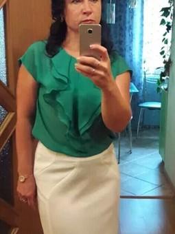 Работа с названием Блузка+юбка