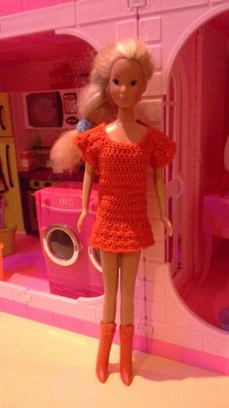 Красное платье дляБарби