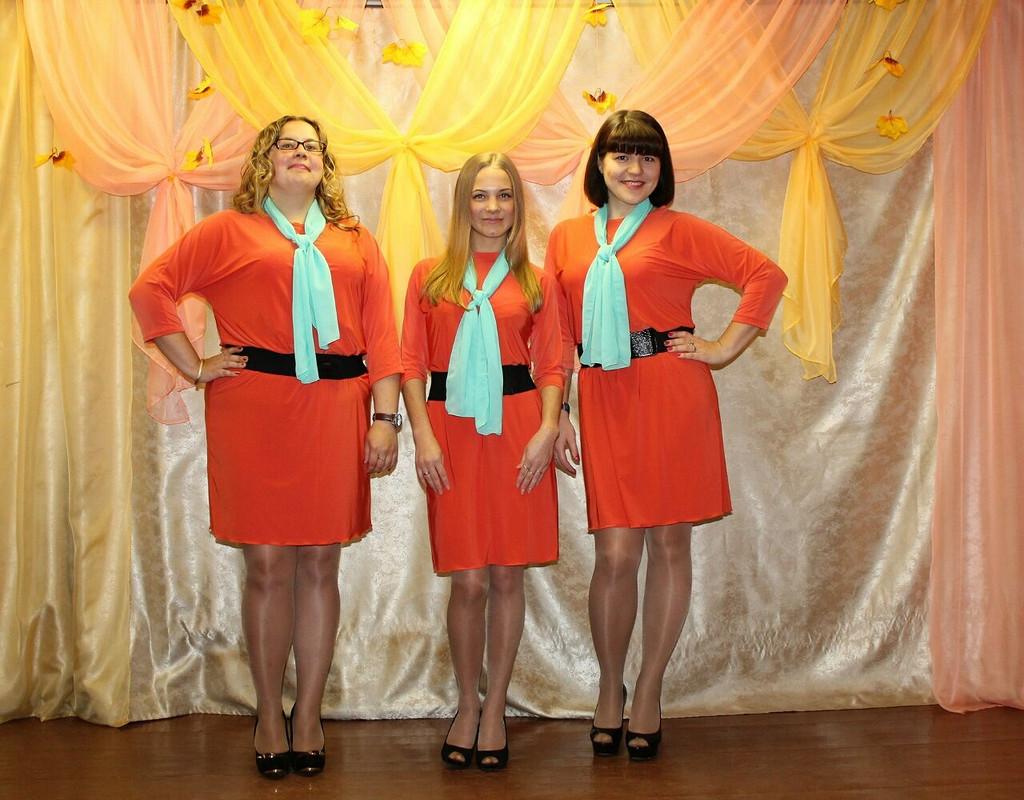 Платья длявокальной группы от Мария Александрова