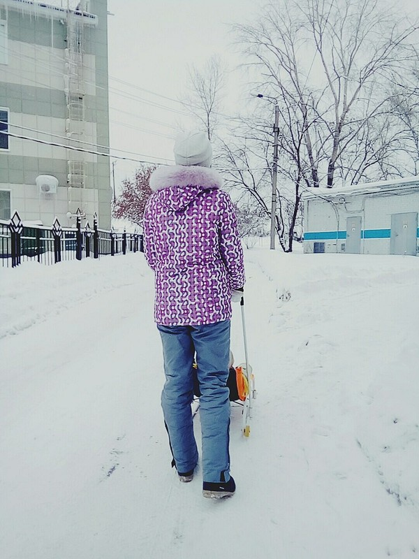 На зиму