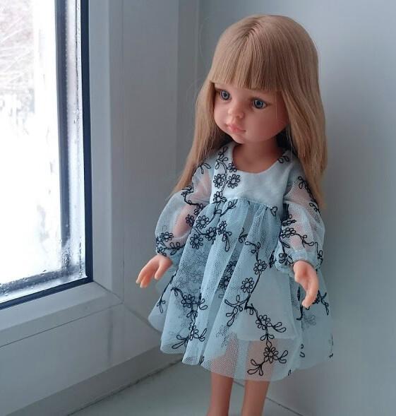 Детское икукольное платья