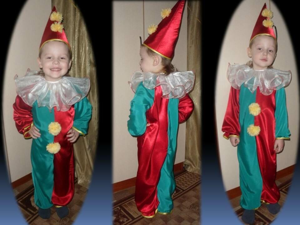Новогодний костюм «Петрушка» от lenakost