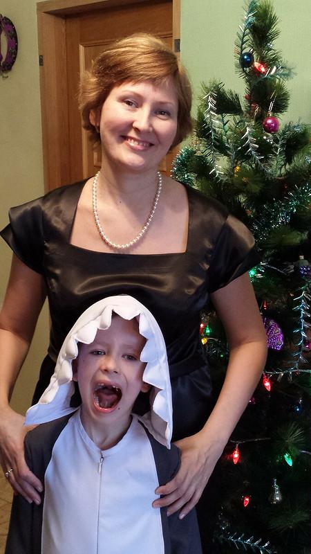 Гранд-мама иАкула-каракула