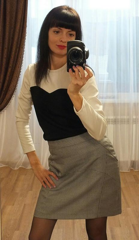 Пуловер итри образа от Наталия2505