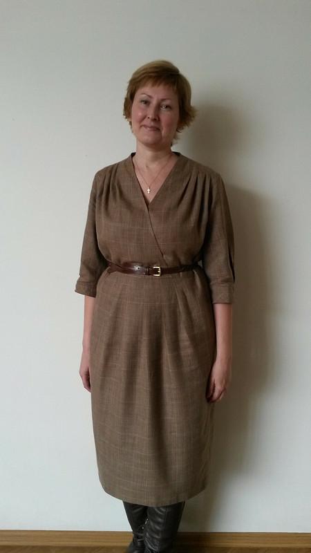 Платье потрикотажной выкройке