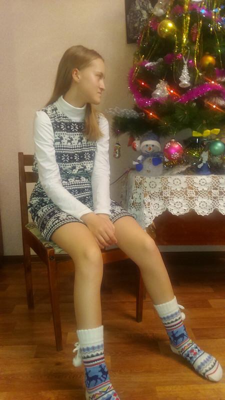 Дочкам новогодние наряды от Nadya1979