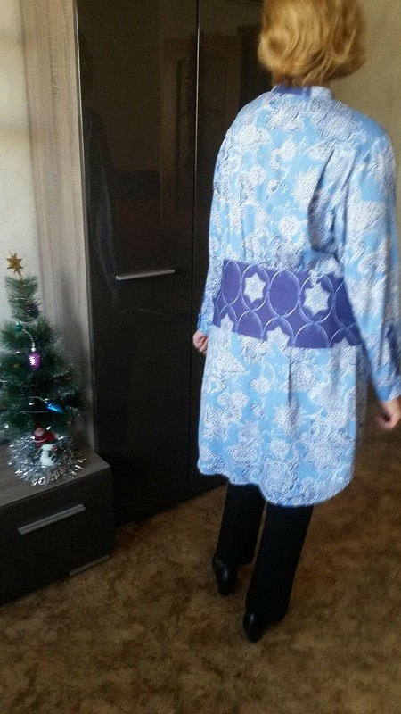 Блузка- Гжель