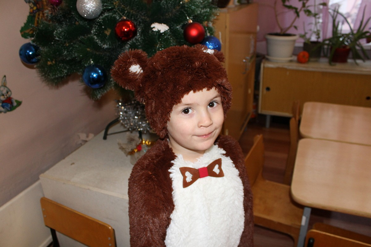 Костюм медвежонка от Chtez