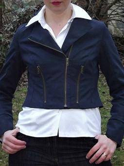 Работа с названием Женская куртка