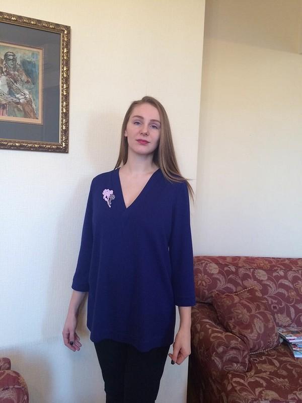 Туника сглубоким вырезом от IrinaChemelkova