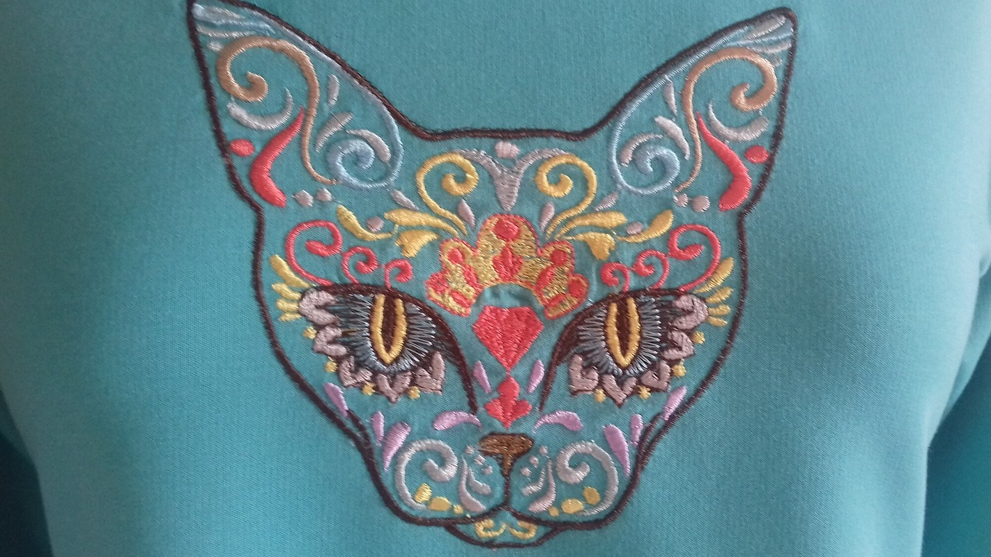 Платье «Мексиканская кошка»