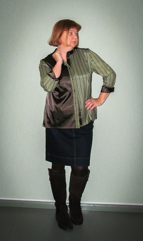 Вдохновение отHermes...или почти первая рубашка) от Елена  arvovna