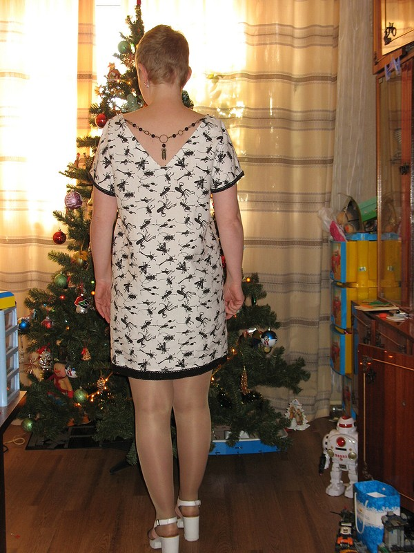 Платье «Жуки» от uekmrbyf