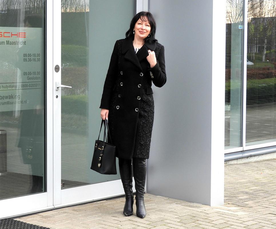 Немножко нарядное пальто от Nelly Trines