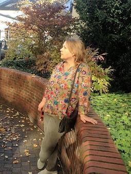 Работа с названием Блуза для осени