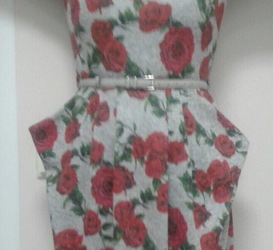 Платье скарманами «кингуру» от S-Vishnya