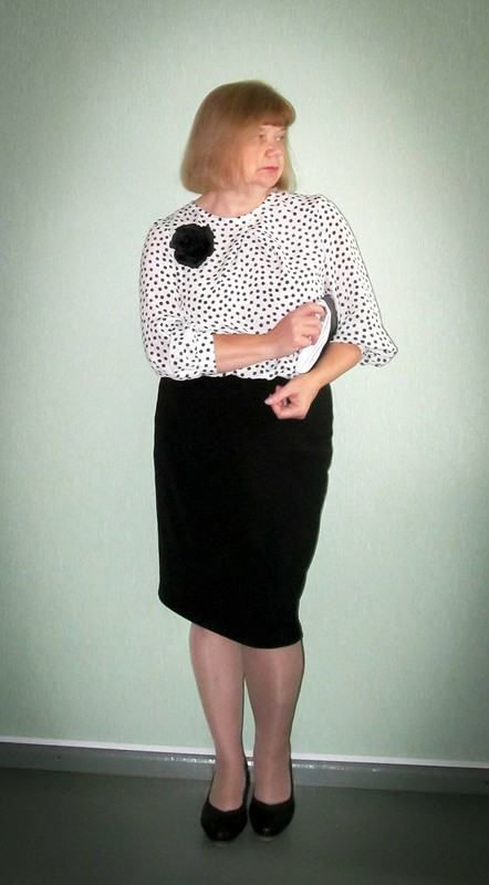 С Днем Учителя! или платье для«плюсиков»