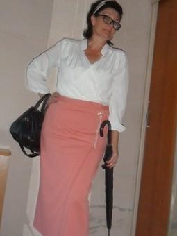 Работа с названием С Днем Учителя или юбка с запахом!