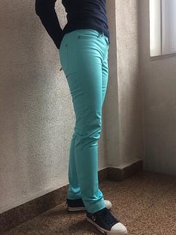 Работа с названием Летние джинсы