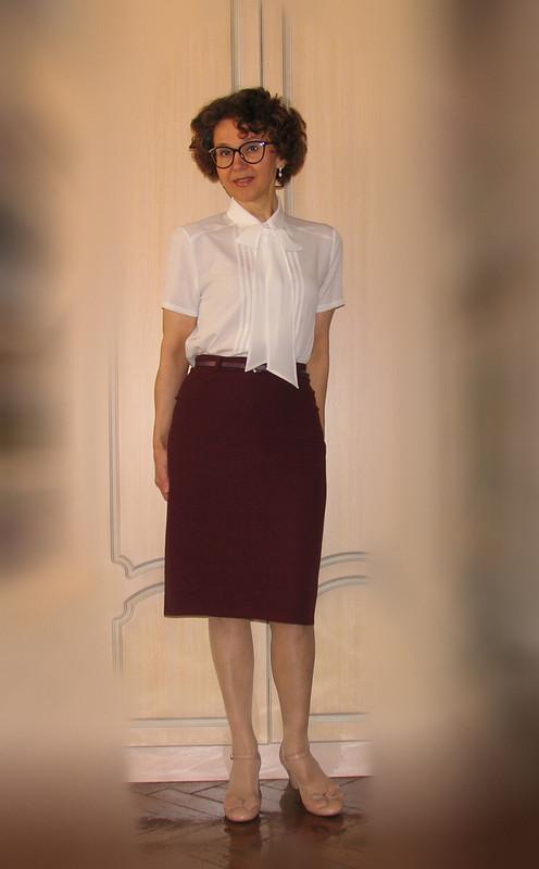 Блузка сбантом