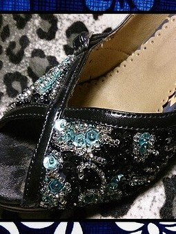 Работа с названием Новая жизнь старых туфель