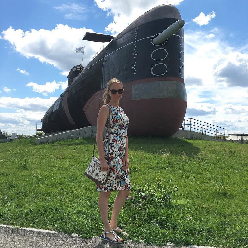 Платье дляпрохладного лета от Яжевика